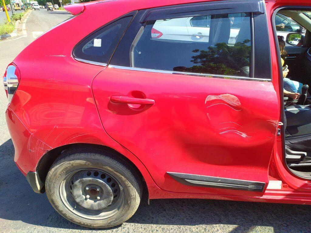 Car Accident Baleno