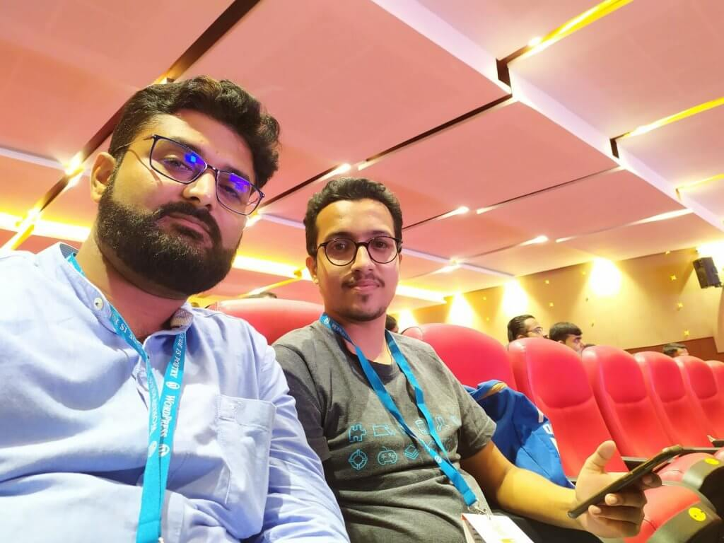 With Dhruv Pandya.